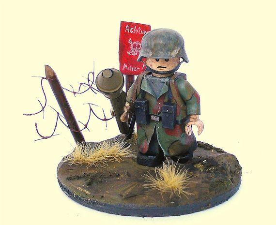 World War 2 German Soldier Custom Minifigure