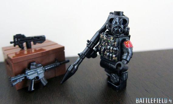 BF4 Chinese Engineer Custom Minifigure