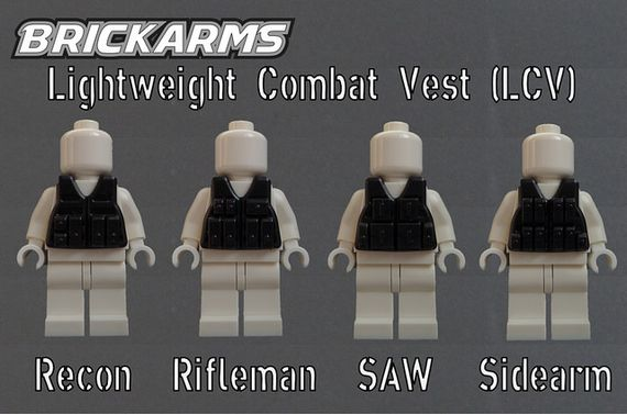 BrickArms Lightweight Combat Vests