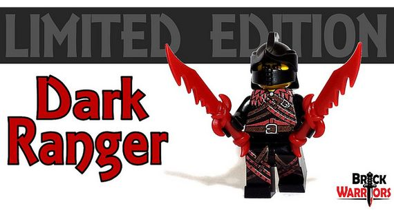 Dark Ranger BrickWarriors Custom Minifigure