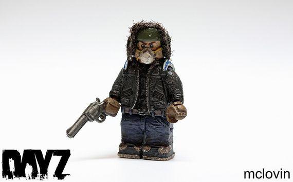 DayZ Survivor Custom Minifigure