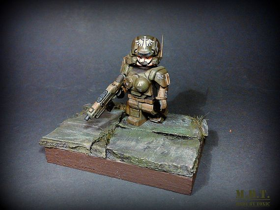 Future Soldier Custom Minifigure