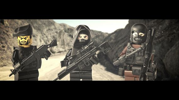 Insurgent Custom Minifigures