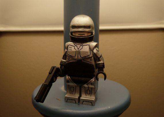 Robocop 1987 Custom Minifigure