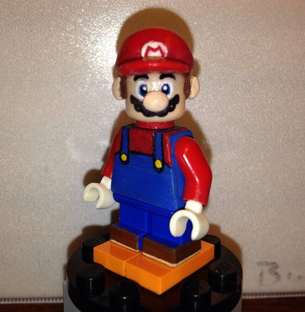 Super Mario Custom Minifigure