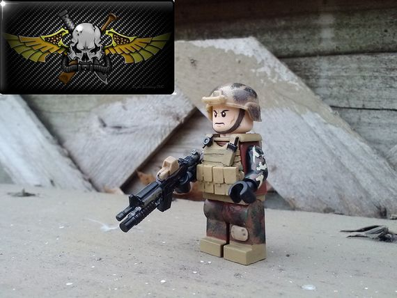 The Operator Custom Minifigure