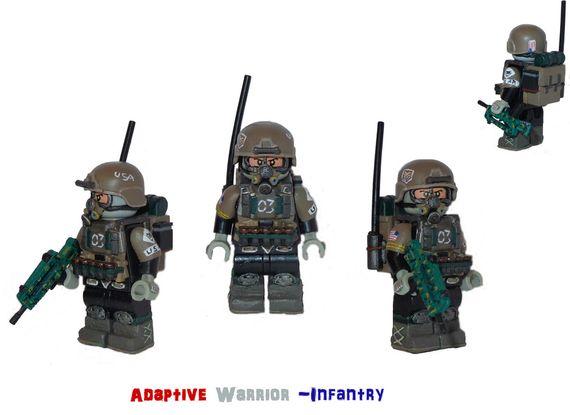 Adaptive Warrior Infantry Custom Minifigure