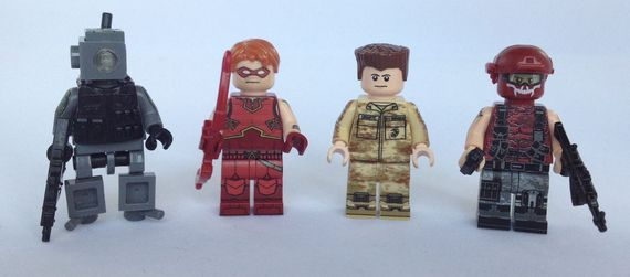 Brick Moc April 2014 Custom Minifigures