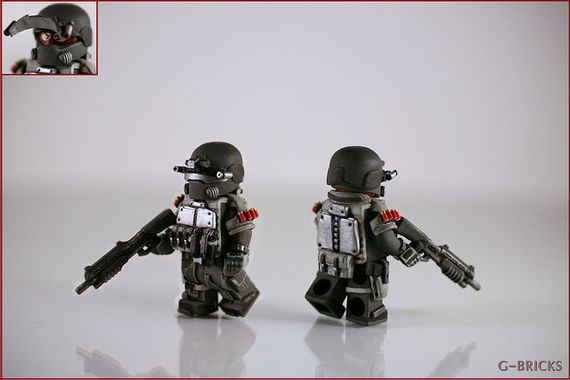 Future Breacher Custom Minifigure