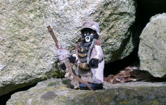 In The Mountains Custom Minifigure