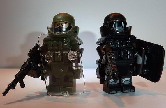 Juggernaut Armour Custom Minifigures