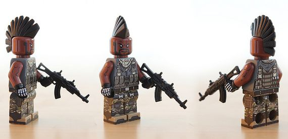 Mercenary Custom Minifigure