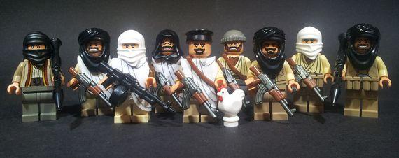 Militia Custom Minifigures