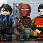 SH Minifigs x Bat Bricks Blonde Vigilante V2 Custom Minifigure
