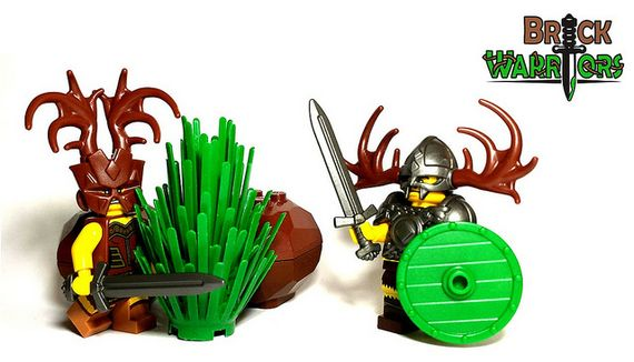 BrickWarriors Viking Druid