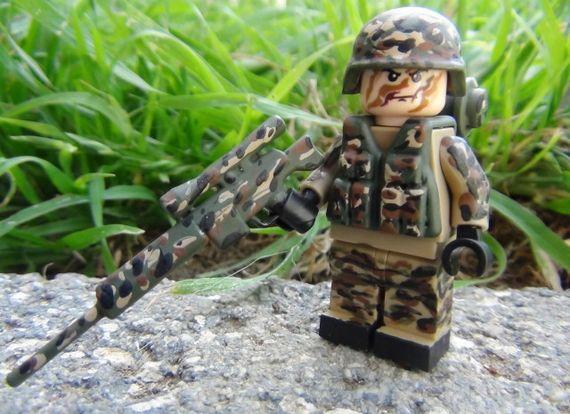 Forest Sniper Custom Minifigure