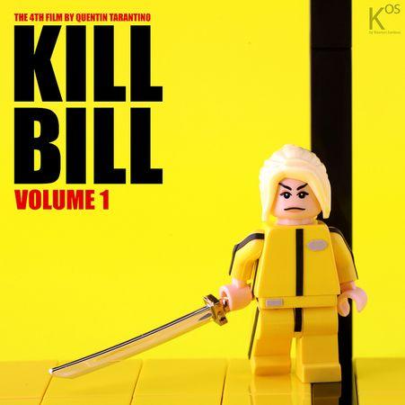 Kill Bill Custom Minifigure
