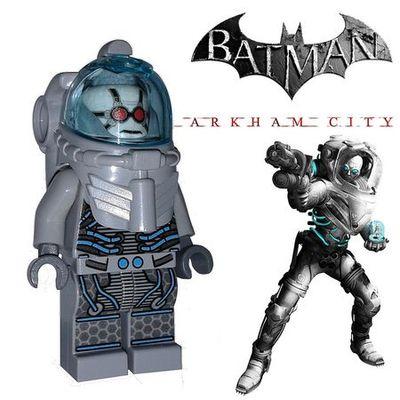 Mr Freeze Arkham City Custom Minifigure