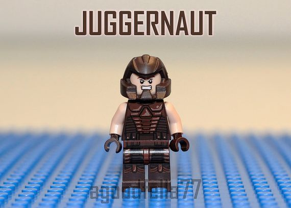 Juggernaut V1 Custom Minifigure