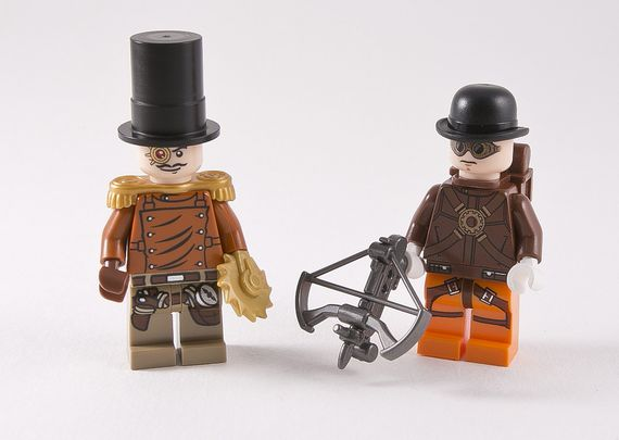 Age of Steam The Wright Brothers Custom Minifigures