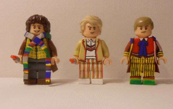 Dr Who Custom Minifigures