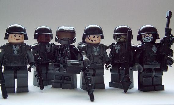 Falcon Brigade Custom Minifigures