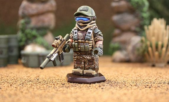 Ghost Recon Future Soldier Custom Minifigure