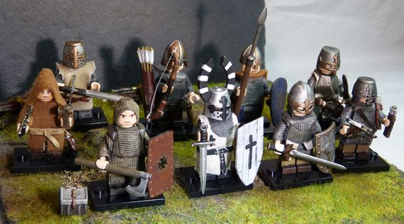 Medieval Collection Custom Minifigures