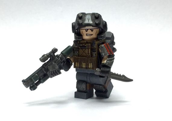 Apoc Government Scout Custom Minifigure