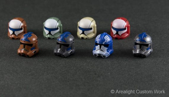 Arealight Alter Printed Helmets