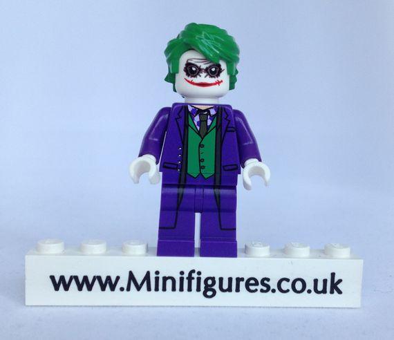 Purple Joker Christo Custom Minifigure