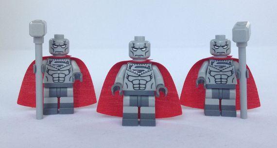 DC Comics Steel Custom Minifigures