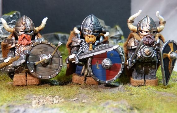 Viking Horde Custom Minifigures