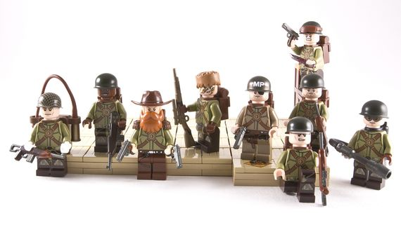 Boys of the 501st Airborne Custom Minifigures