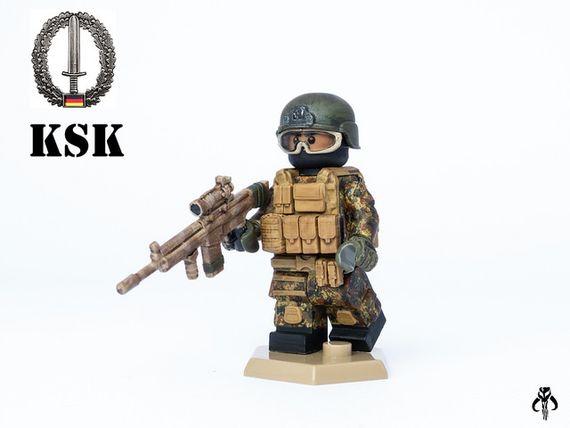 German KSK Custom Minifigure