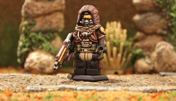Hunter Destiny Custom Minifigure