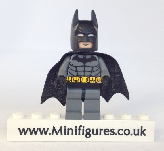 Arkham City Batman Custom Minifigure