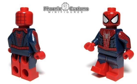 Arachnid Hero Spider-Man Custom Minifigure