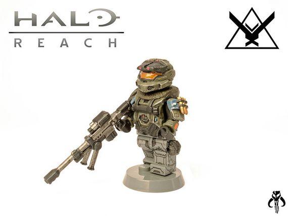 Halo Reach Jun Custom Minifigure