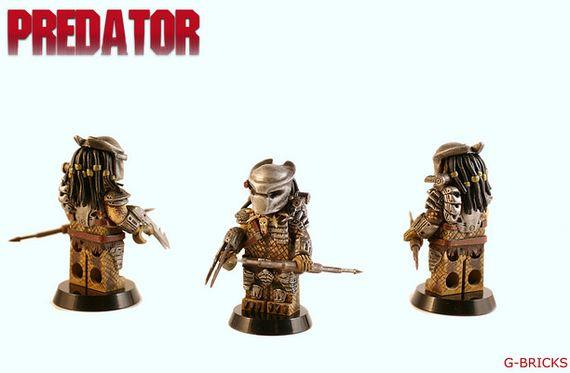 Predator G-Bricks Custom Minifigure