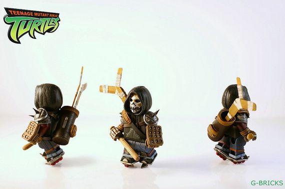 Casey Jones Teenage Mutant Ninja Turtles Custom Minifigure