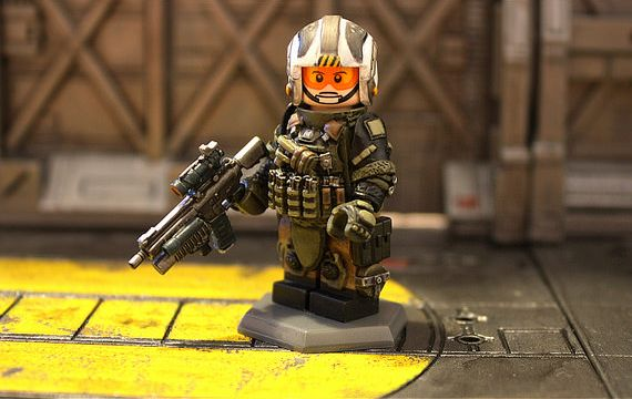 Future Warfare Custom Minifigure