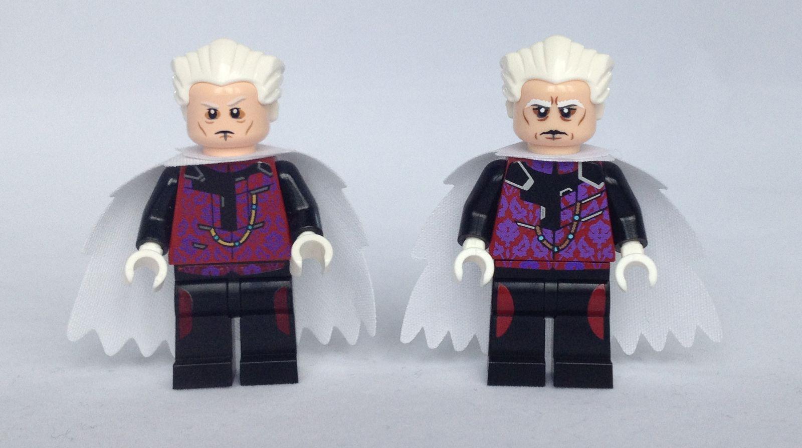 LEGO The Collector Minifigure Comparison