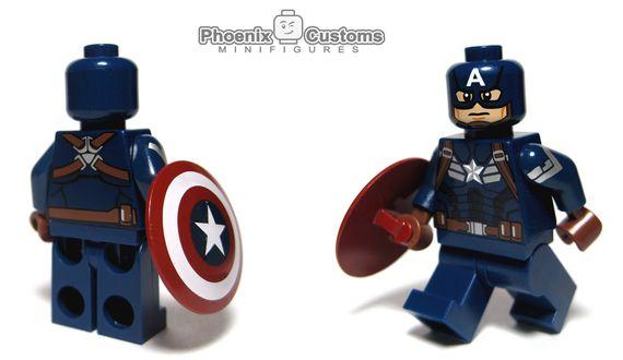 Phoenix Customs American Super Soldier Custom Minifigure