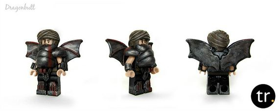 Dragonbutt Custom Minifigure