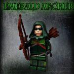 BrothersFigure Emerald Destroyer Custom Minifigure