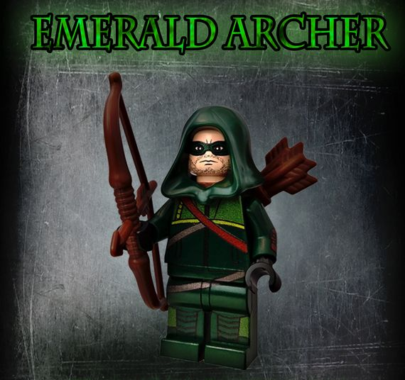 Emerald Archer Custom Minifigure