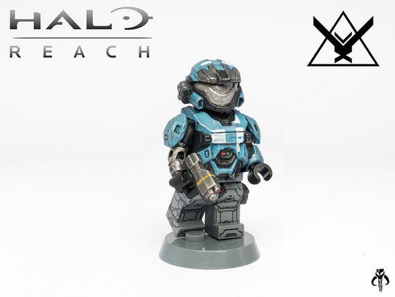 Halo Reach Kat Custom Minifigure