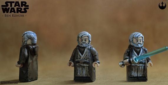 Star Wars Ben Kenobi Custom Minifigure