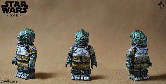 Star Wars Bossk Custom Minifigure